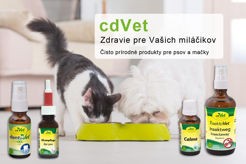 Prírodné produkty pre psov aj mačky