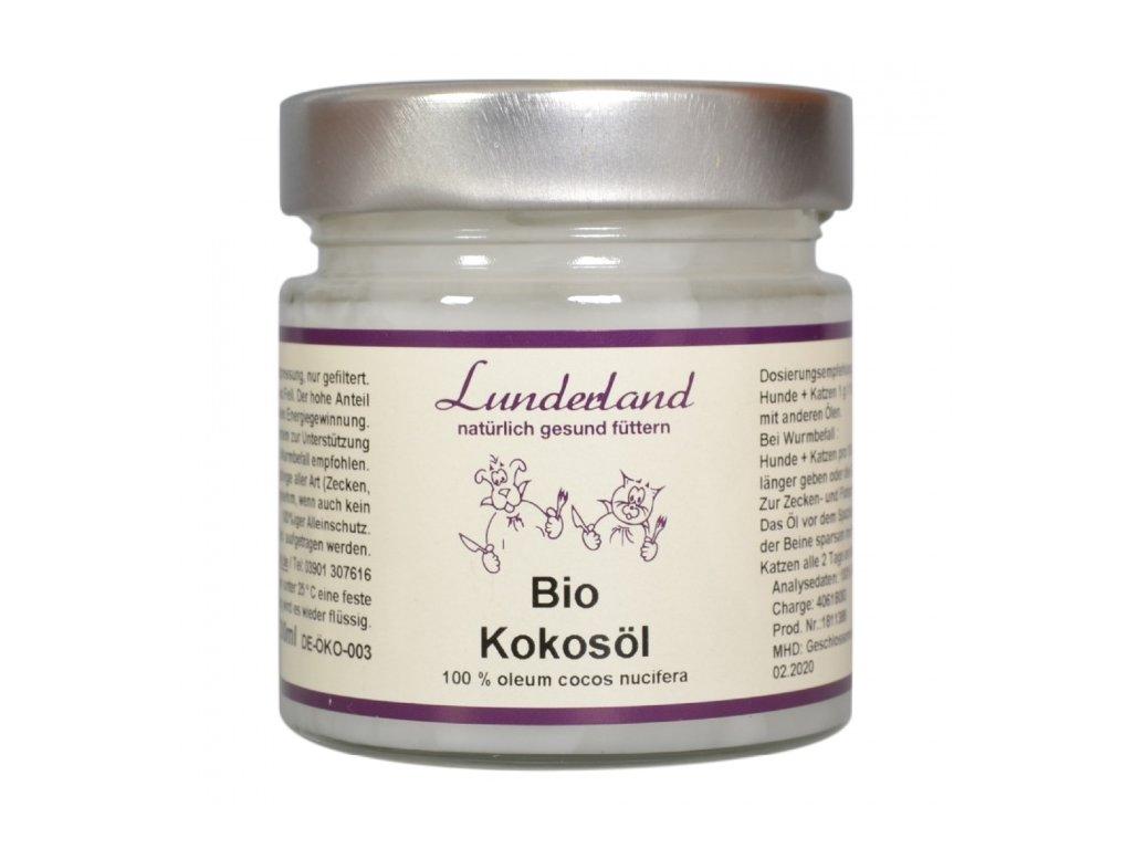 lunderland bio kokosovy olej 200 ml original