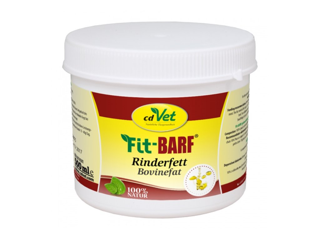 cdvet fit barf hovezi tuk 500 ml original