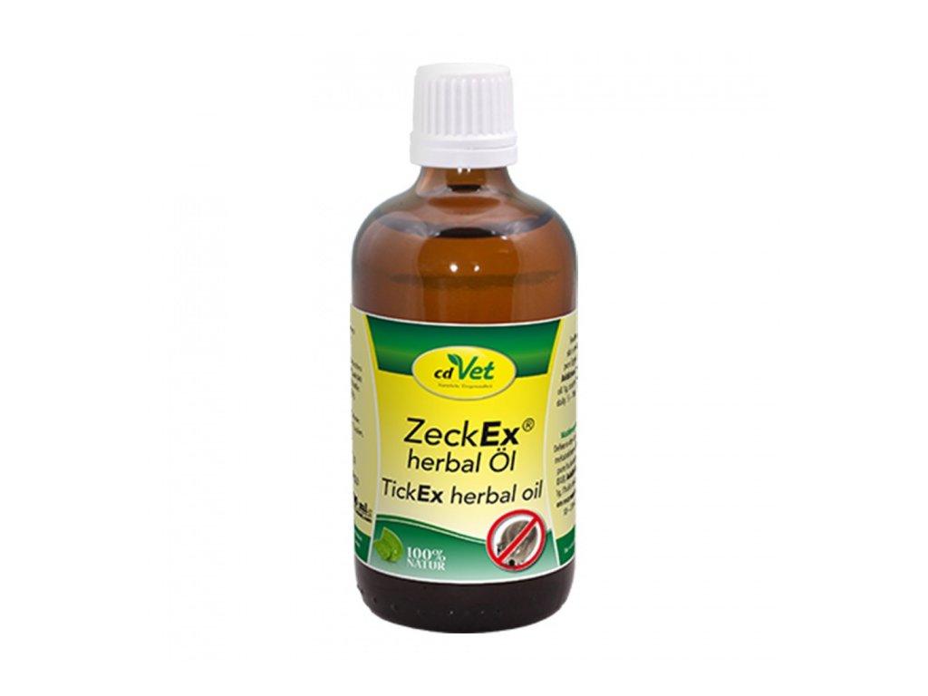 cdvet olej zeckex herbal 100 ml original