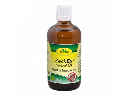 cdvet olej zeckex herbal 100 ml original