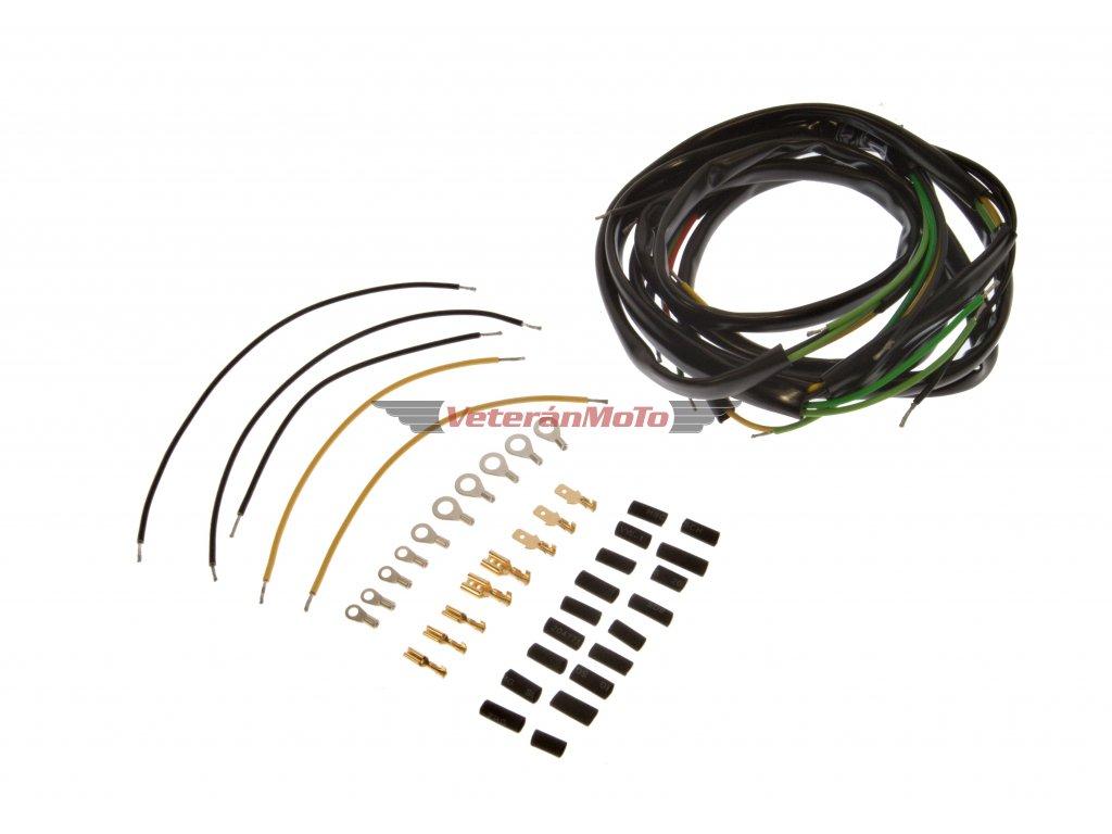 Elektroinstalace / kabeláž kompletní 20W JAWA 50 PIONÝR 05, 20, 21