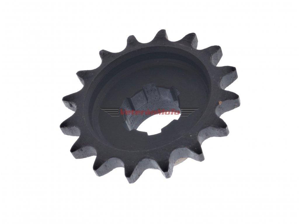 Kolečko řetězu 16 zubů JAWA KÝVAČKA, PANELKA
