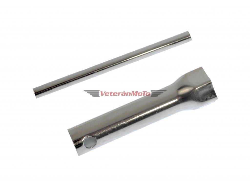 Klíč na svíčky / svíčák trubkový s tyčkou 21mm