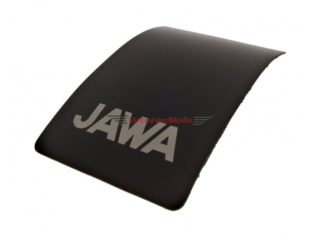 Zástěrka zadního blatníku / lapač nečistot s nápisem JAWA PIONÝR 550, 555, 05, 20, 21, 23