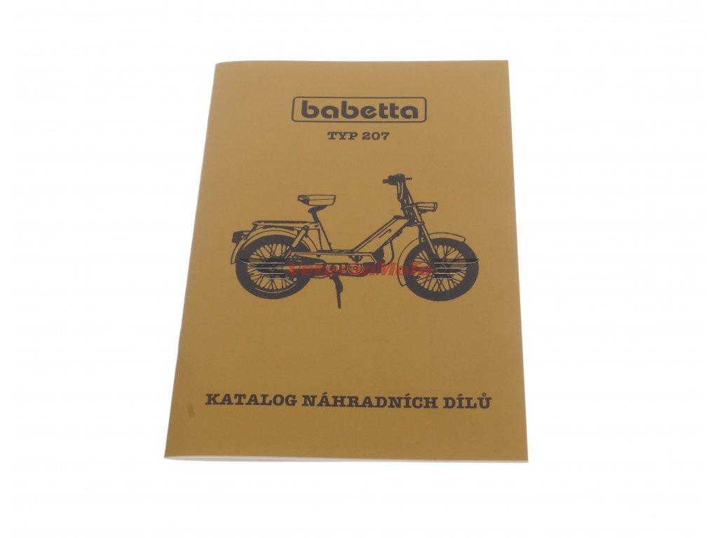 Katalog náhradních dílů BABETTA / BABETA 207