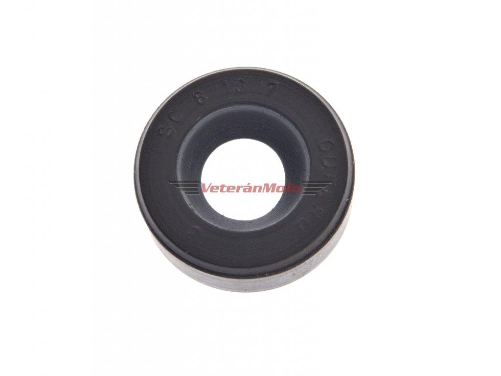 Gufero (hřídelový těsnící kroužek, simmerring, simering, simerink) NBR 8x16x7