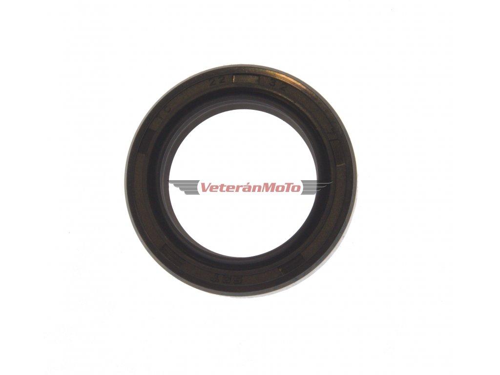Gufero (hřídelový těsnící kroužek, simmerring, simering, simerink) NBR 22x32x7 GP