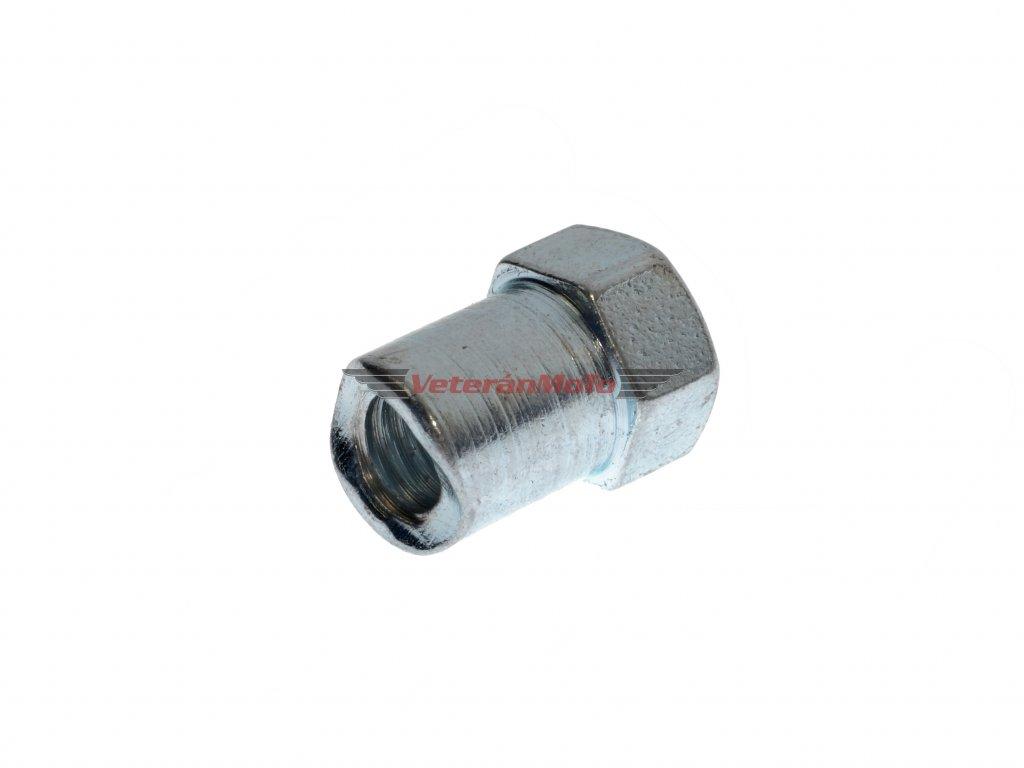 Matice bowdenu / lanka brzdy M6 - šestihranná