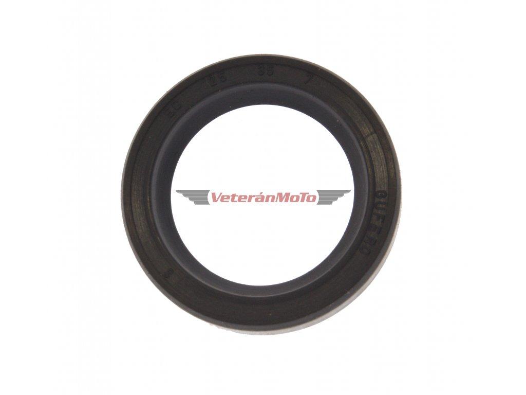 Gufero (hřídelový těsnící kroužek, simmerring, simering, simerink) NBR 25x35x7