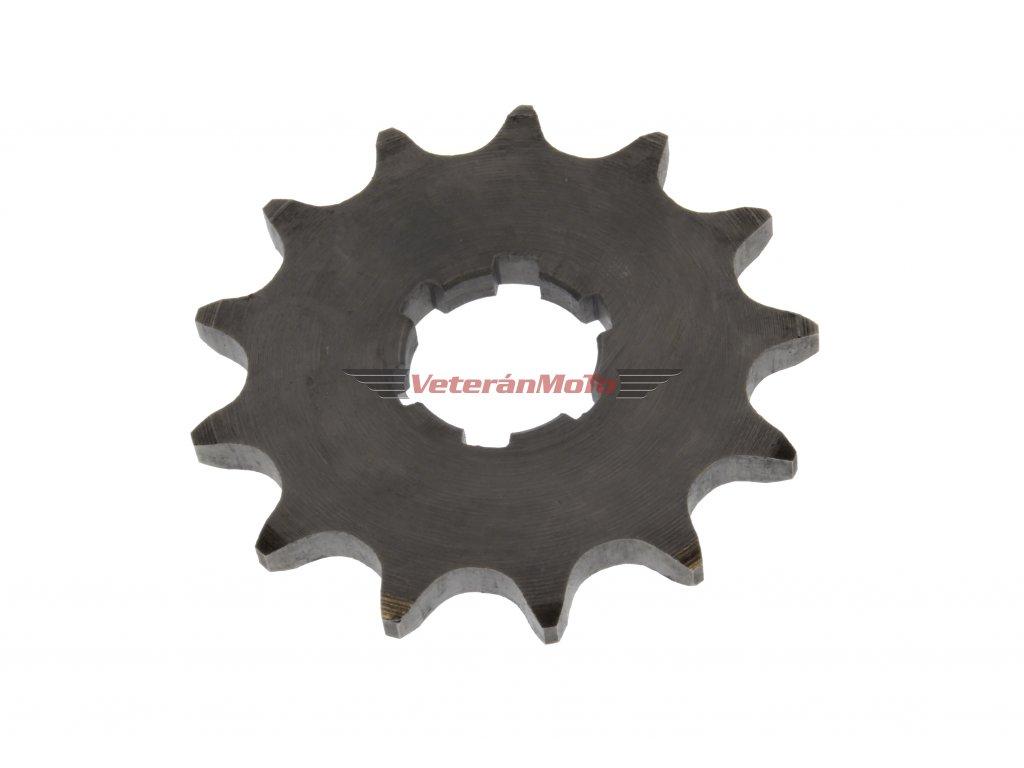 Řetězové kolečko přední - sekundárního převodu, 13 zubů JAWA 50 PIONÝR 550, 555, 05, 20, 21, 23