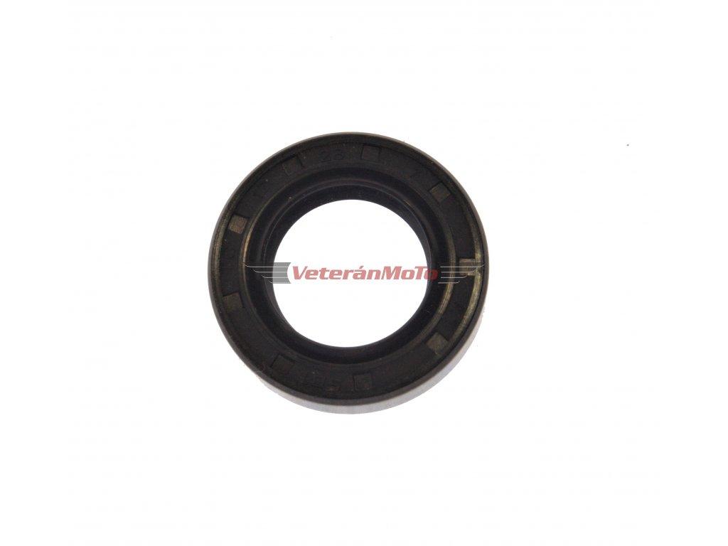 Gufero (hřídelový těsnící kroužek, simmerring, simering, simerink) NBR 17x28x7 GP