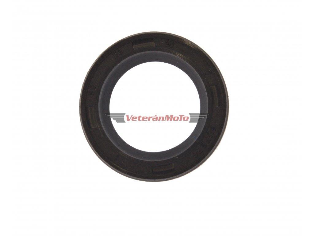 Gufero (hřídelový těsnící kroužek, simmerring, simering, simerink) NBR 20x30x7