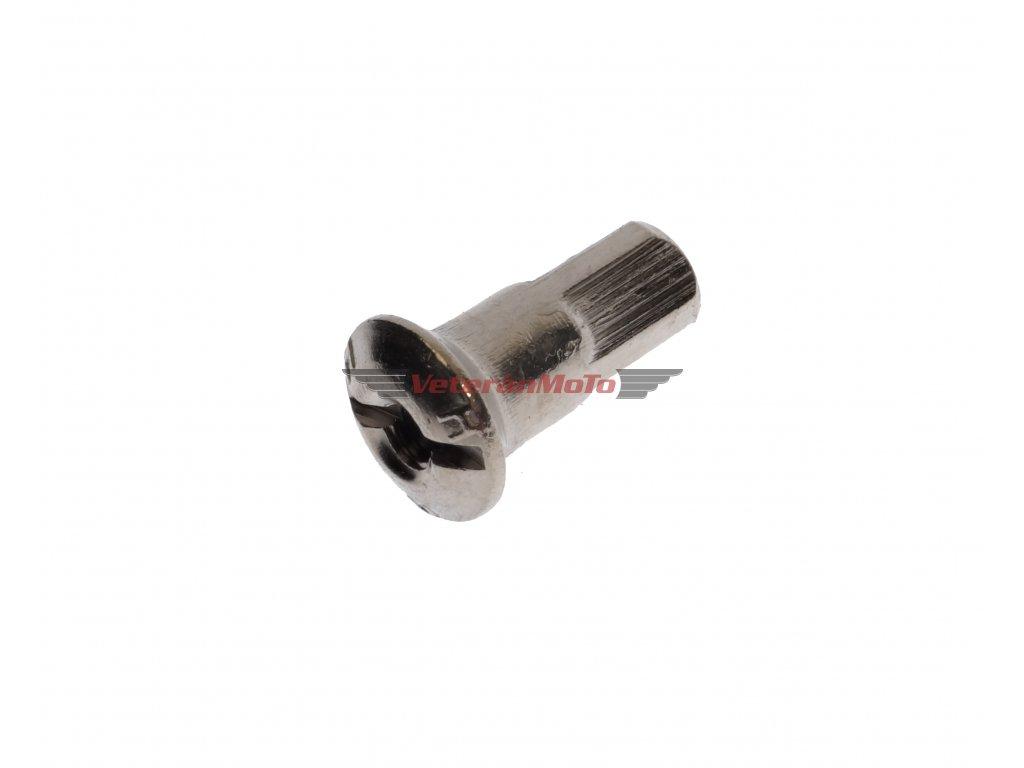 Matice / nipl paprsku / špice M4 zinek