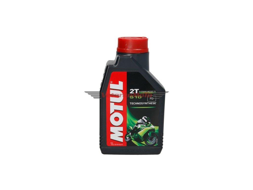 Olej pro dvoutaktní motory Motul 510 1l, API TC, ISO-L-EGD; JASO FD