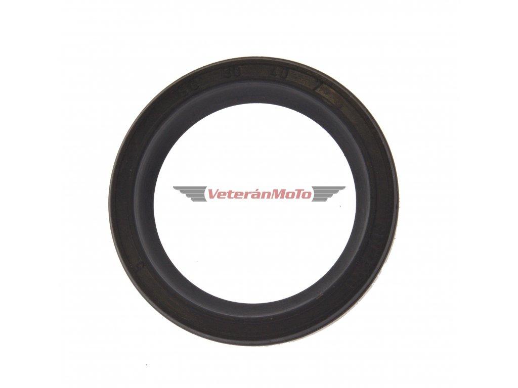Gufero (hřídelový těsnící kroužek, simmerring, simering, simerink) NBR 30x40x7