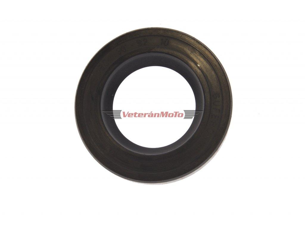 Gufero (hřídelový těsnící kroužek, simmerring, simering, simerink) NBR 30x52x10