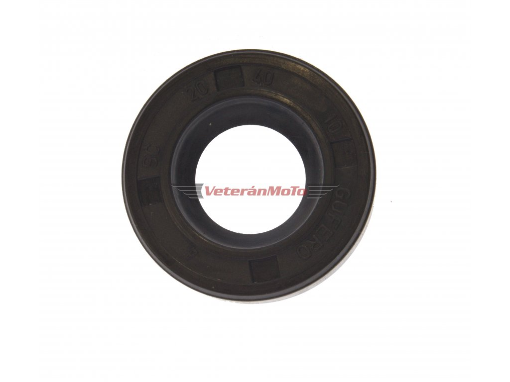 Gufero (hřídelový těsnící kroužek, simmerring, simering, simerink) NBR 20x40x10