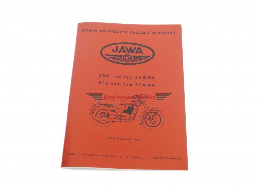 Katalog náhradních dílů JAWA KÝVAČKA 250/350
