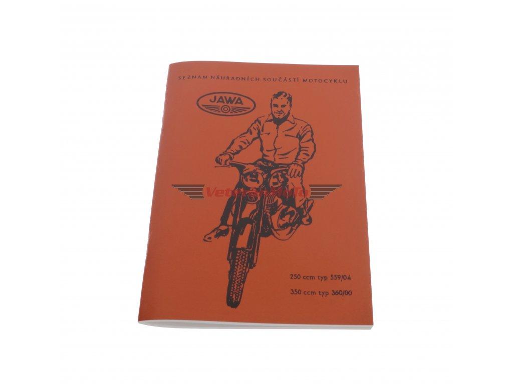 Katalog náhradních dílů JAWA PANELKA 250/350