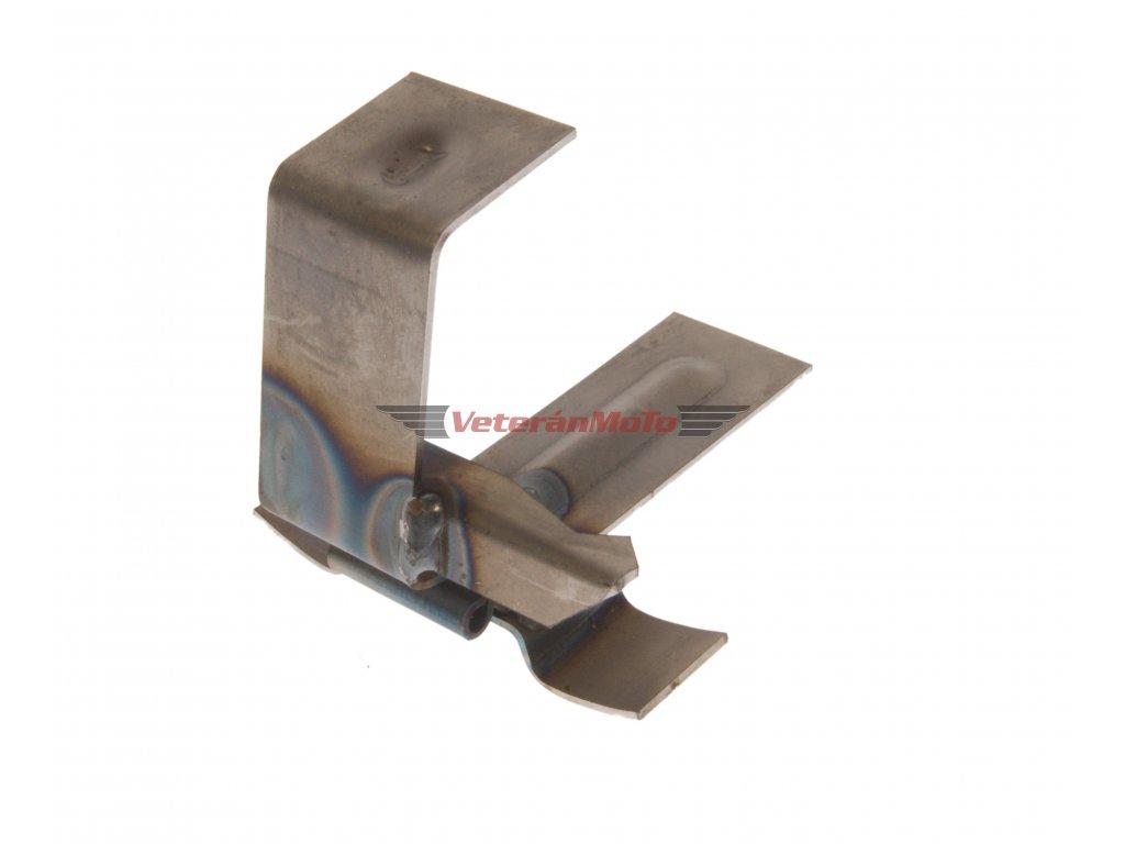Držák sedla a pumpičky k navaření na rám (k sedlu s předním výklopem) JAWA 50 PIONÝR 550, 555