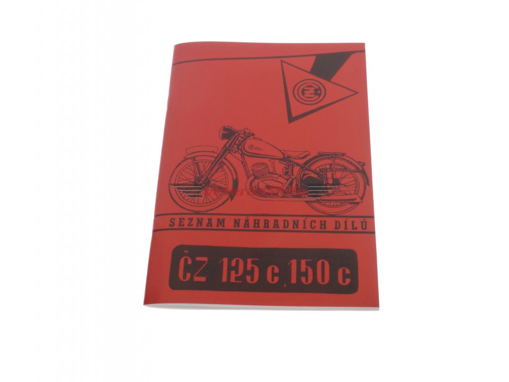 Katalog náhradních dílů ČZ 125/150C