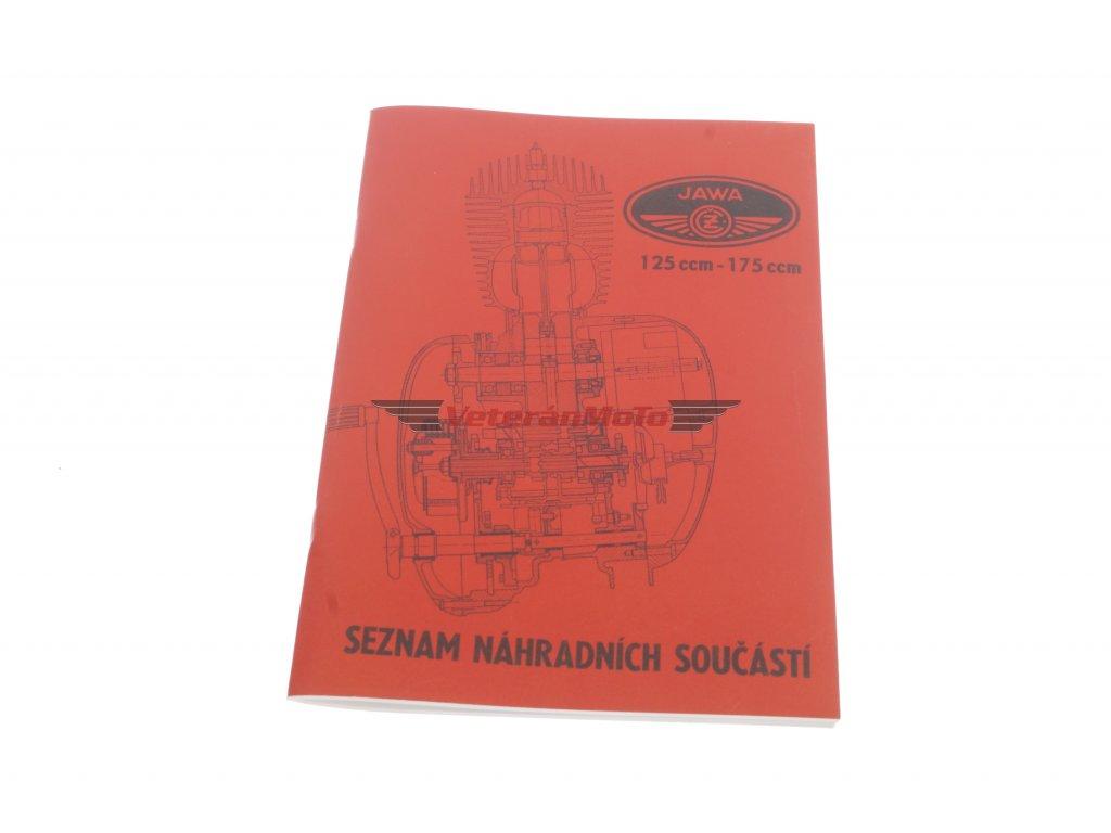 Katalog náhradních dílů JAWA-ČZ 355, 356