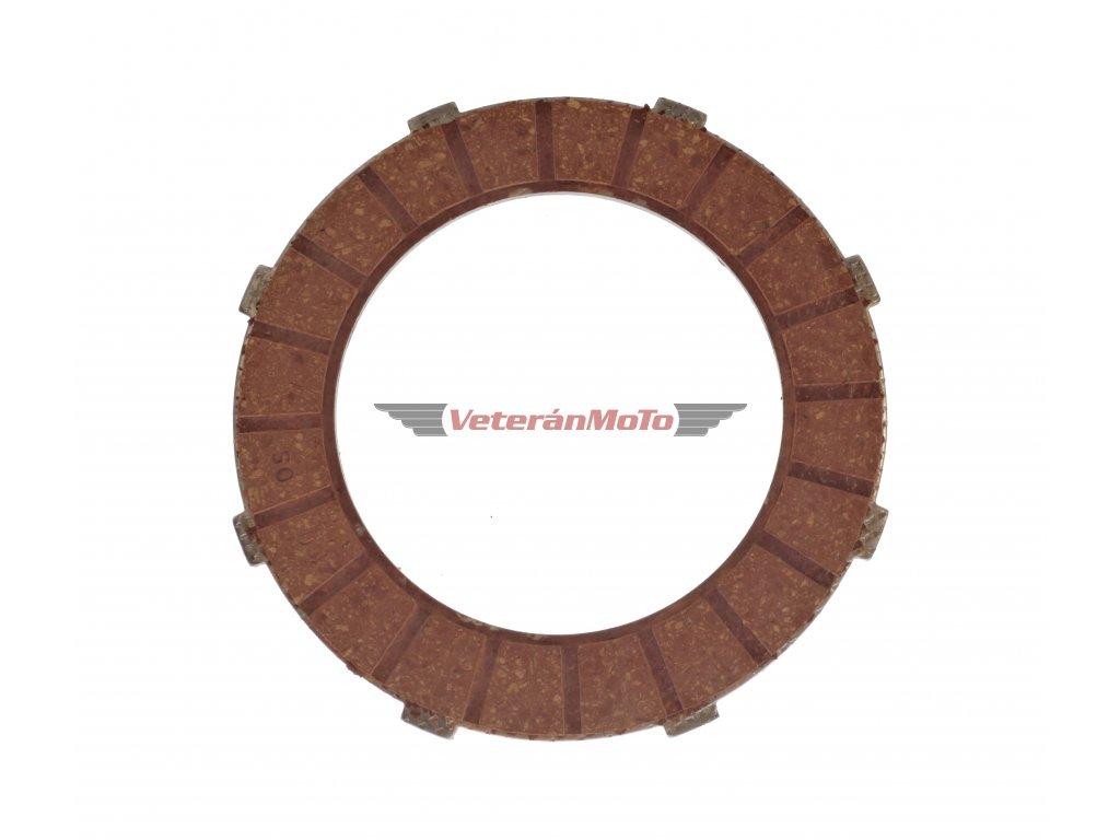 Spojková lamela FERODO JAWA, ČZ 125, 175 - ČESKÁ VÝROBA