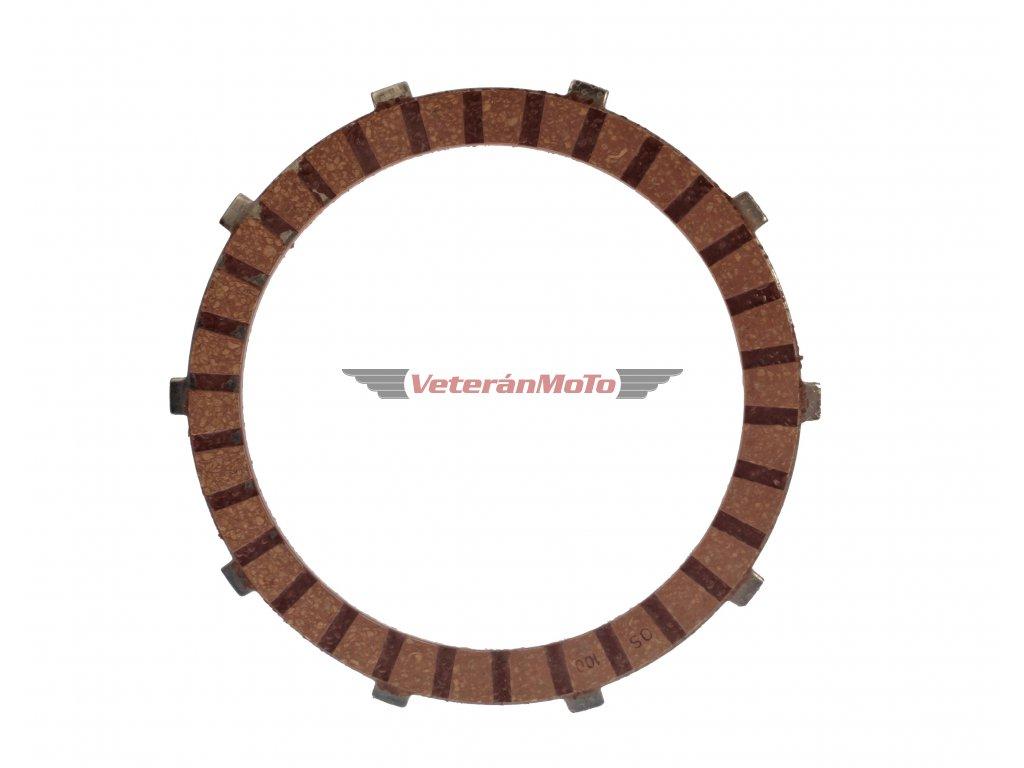 Spojková lamela FERODO JAWA 350/638, 639, 640 - ČESKÁ VÝROBA