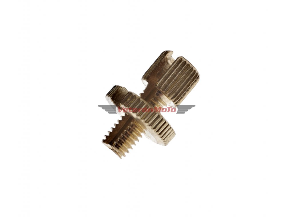 Šroub bowdenu / lanka seřizovací / štelovací M8x1,25mm - prořízlý