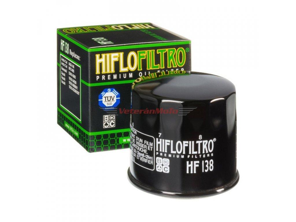 Olejový filtrHIFLOFILTRO HF 138