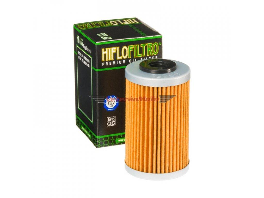 Olejový filtrHIFLOFILTRO HF 655