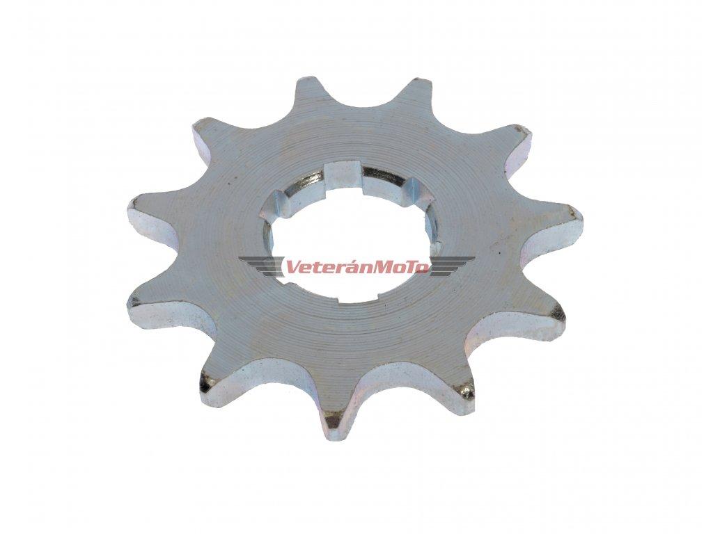 Řetězové kolečko přední - sekundárního převodu, 11 zubů PIONÝR 550, 555, 05, 20, 21, 23