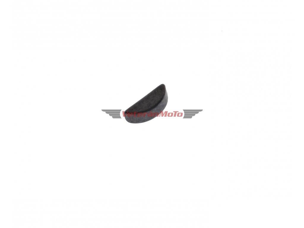 Klínek rotoru zapalování 3x5 - klikové hřídele -woodruffovo pero ČZ 125, 150 C, T, B