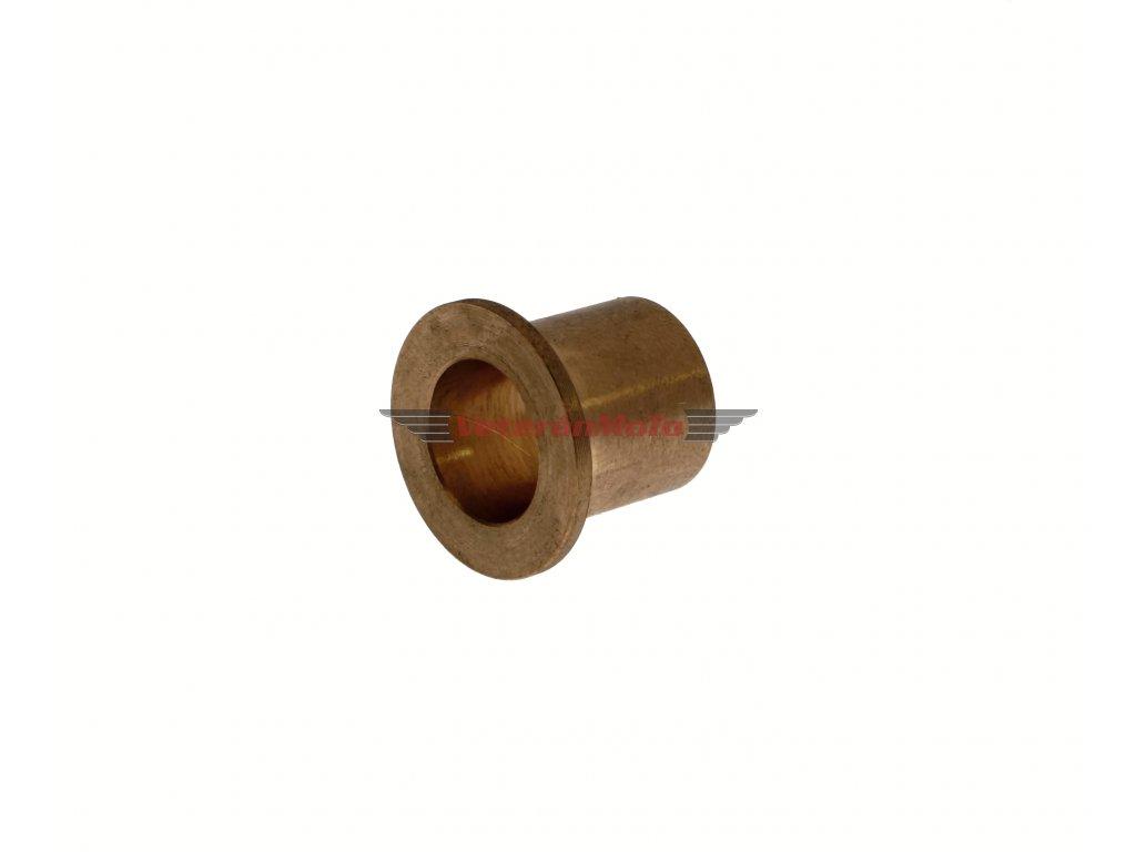 Vložka / pouzdro zadní brzdové páky / pedálu s osazením - bronz JAWA 50 PIONÝR 550