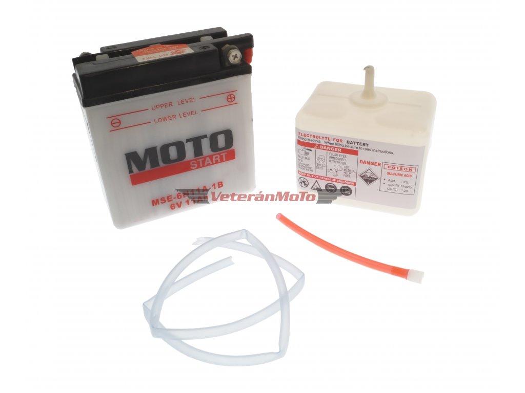 Baterie / akumulátory 6N11A-1B (6V 11Ah) Motostart