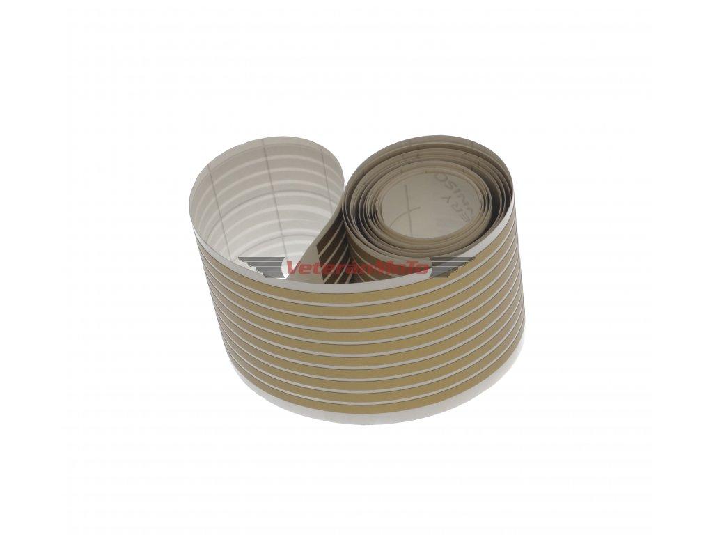 Linka / linky zlaté 3x1500mm