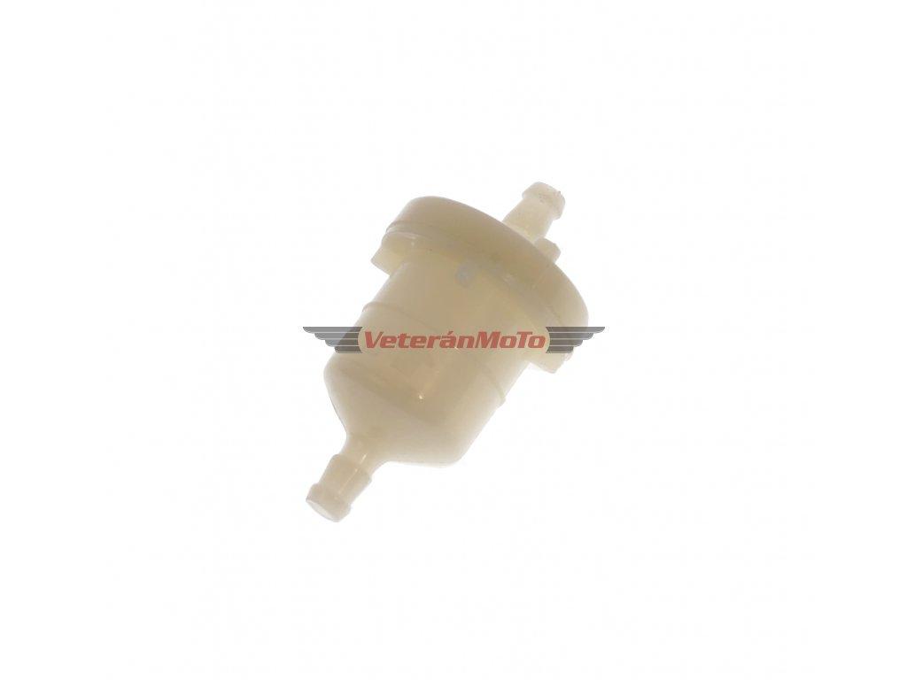 Filtr paliva kulatý malý - hadička d=5, 6
