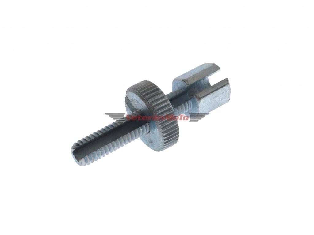 Šroub bowdenu / lanka seřizovací / štelovací M6x30 - prořízlý