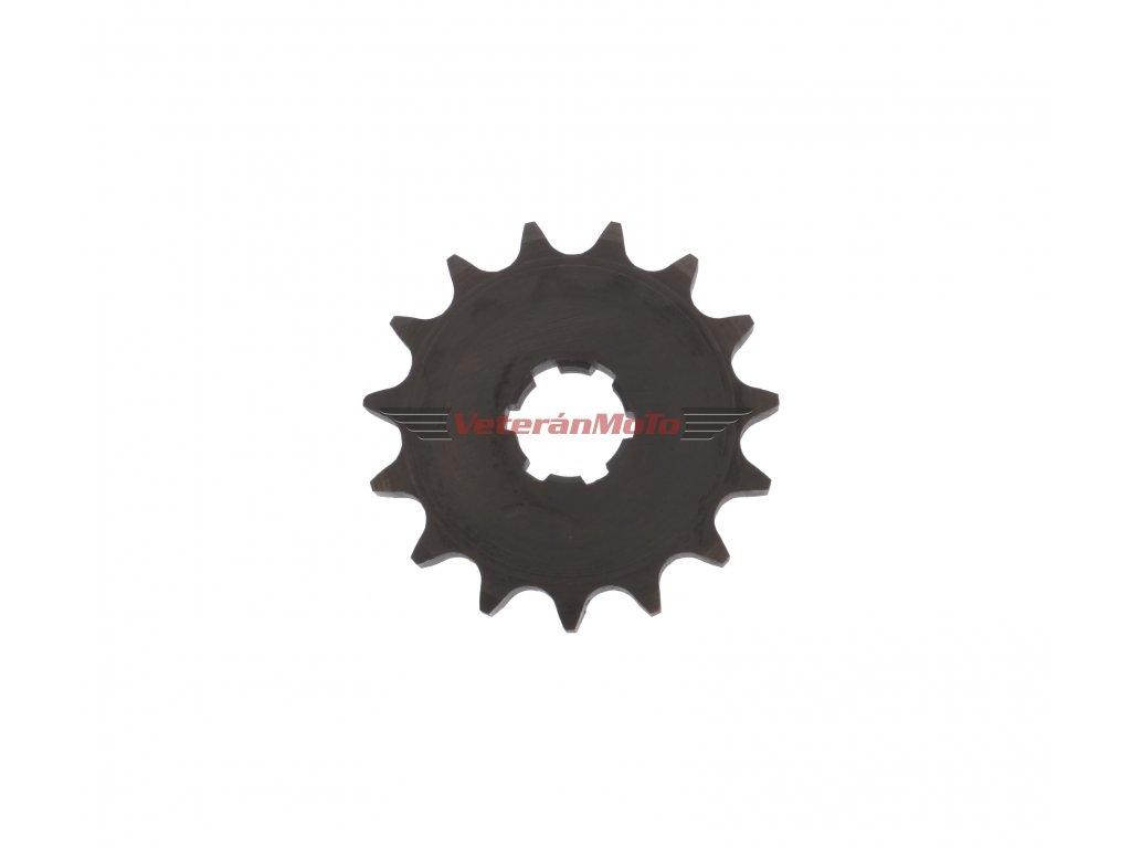 Kolečko řetězu 15 zubů s malým středem JAWA-ČZ 125, 175