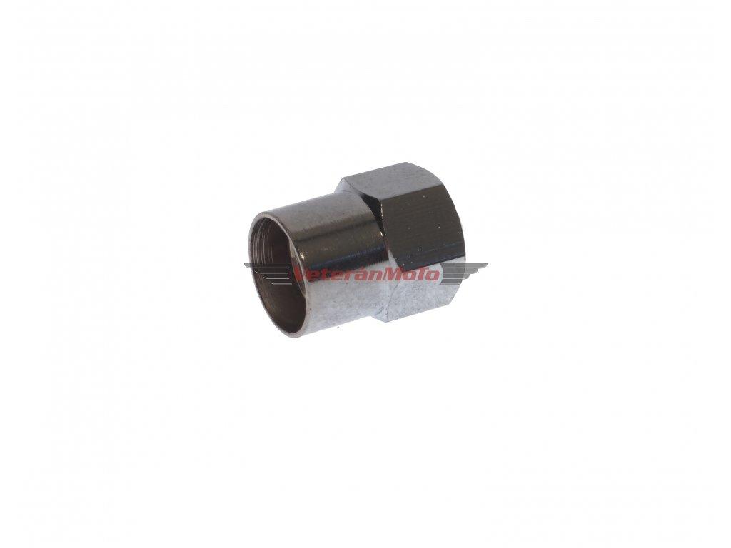 Čepička ventilku kovová šestihranná