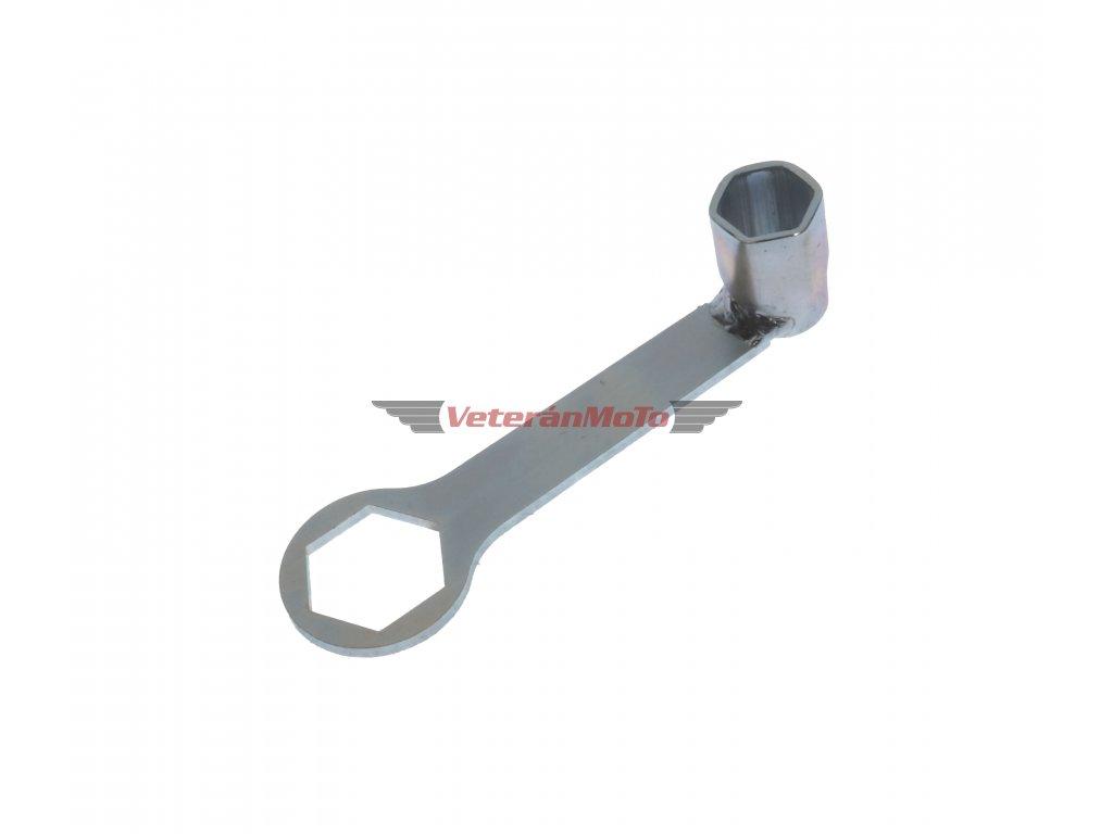 Klíč na svíčky / svíčák s očkem 32mm JAWA, ČZ