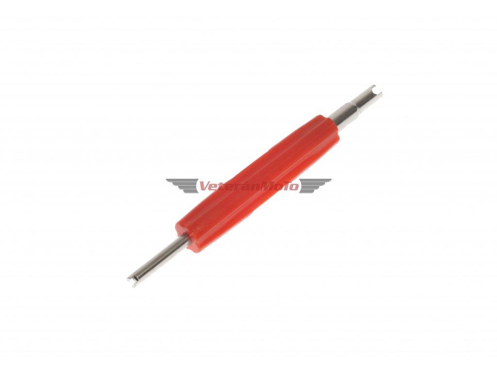 Šroubovák vložky ventilku