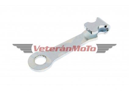 Páčka brzdového klíče přední - zinek BABETTA / BABETA 207, 210, 225 / brzdového klíče zadní BABETTA / BABETA 207
