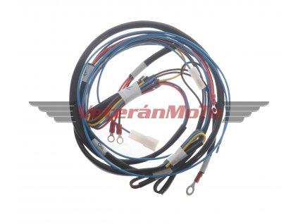 Elektroinstalace / kabeláž kompletní JAWA 50 PIONÝR 550