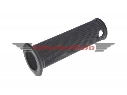 Návlečka / návlek rukojeti řídítek / řídítka plynu pravá - černá