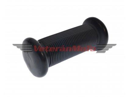 Návlečka / návlek přední stupačky kulatá - černá