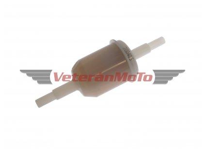 Palivový / benzinový filtr kulatý MANN na hadičku s průměrem 5, 6 - ČESKÁ VÝROBA