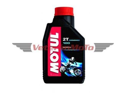 Olej pro dvoutaktní motory Motul 100 1l, API TC, JASO FB