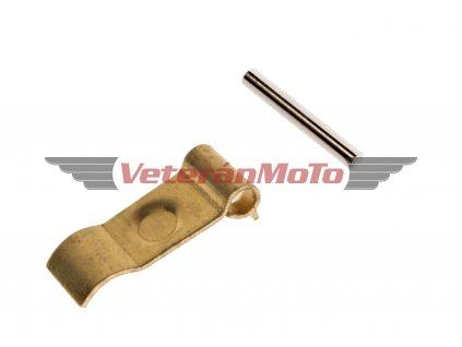Závěs s oskou jehlového ventilu JAWA 50 PIONÝR 05, 20, 21, 23